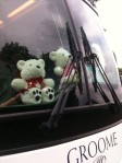 Snow Bears on bus