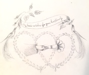 Drawing from Amelia's album